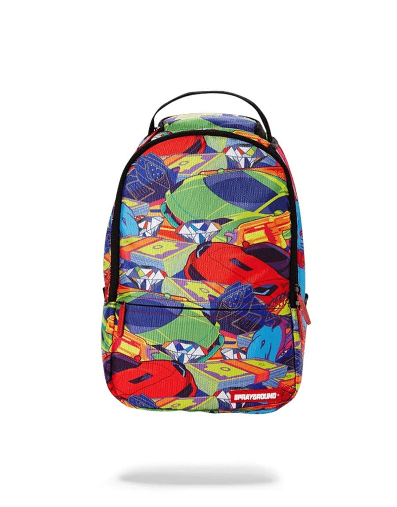 Sprayground Lil Money Riches Backpack - backpacks4less.com