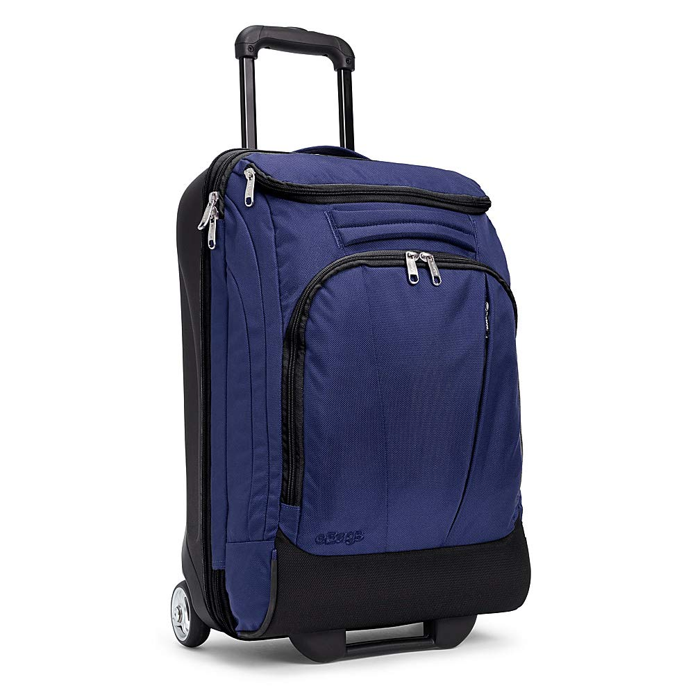 eBags TLS Mother Lode Mini 21 Inch Wheeled Carry-On Duffel (True Navy) - backpacks4less.com