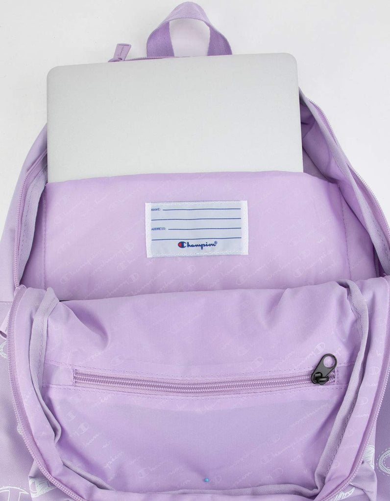 Champion Men's Supercize 2.0 Backpack (Light Pastel Purple, One Size) - backpacks4less.com