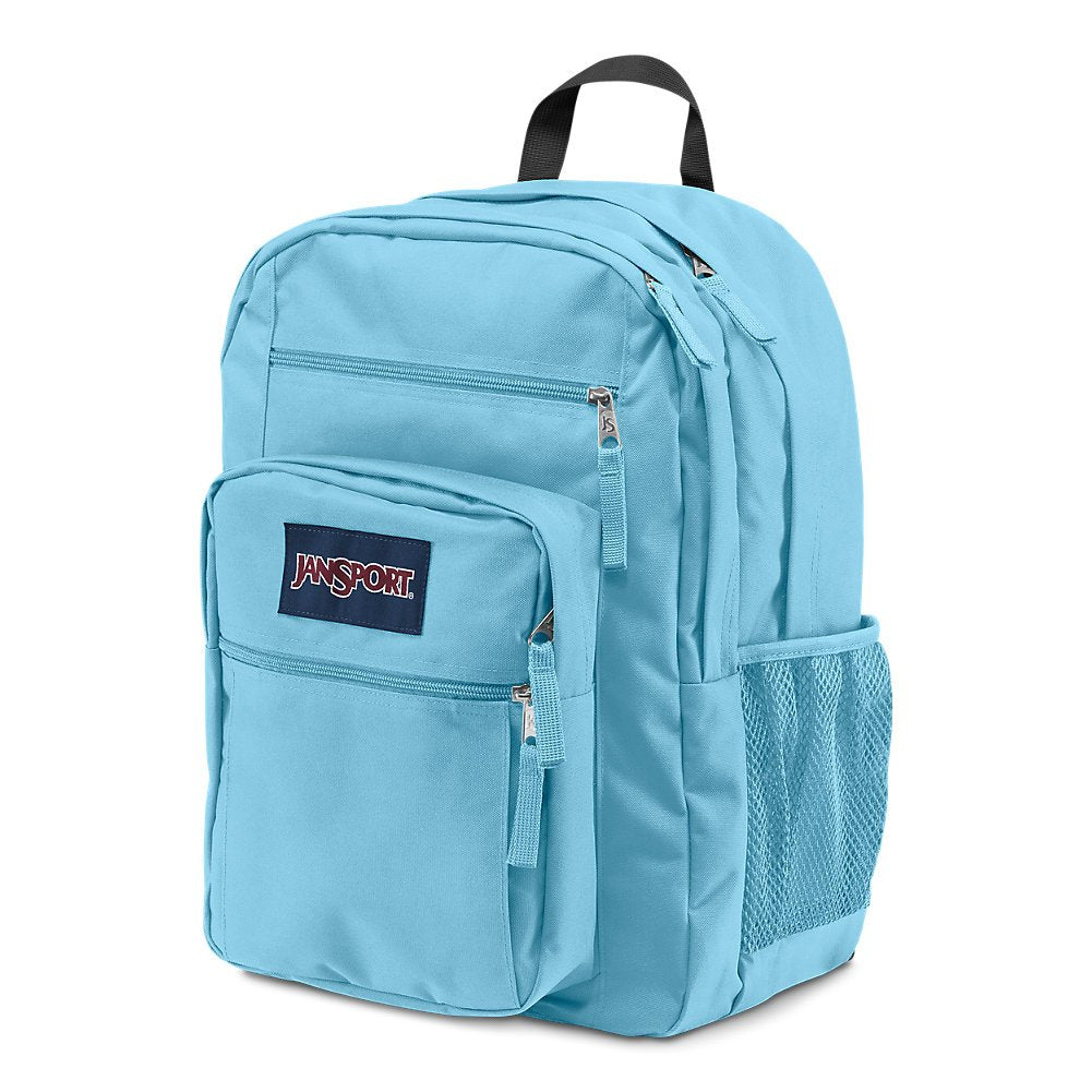 Jansport Big Student Backpack, Blue Topaz - backpacks4less.com