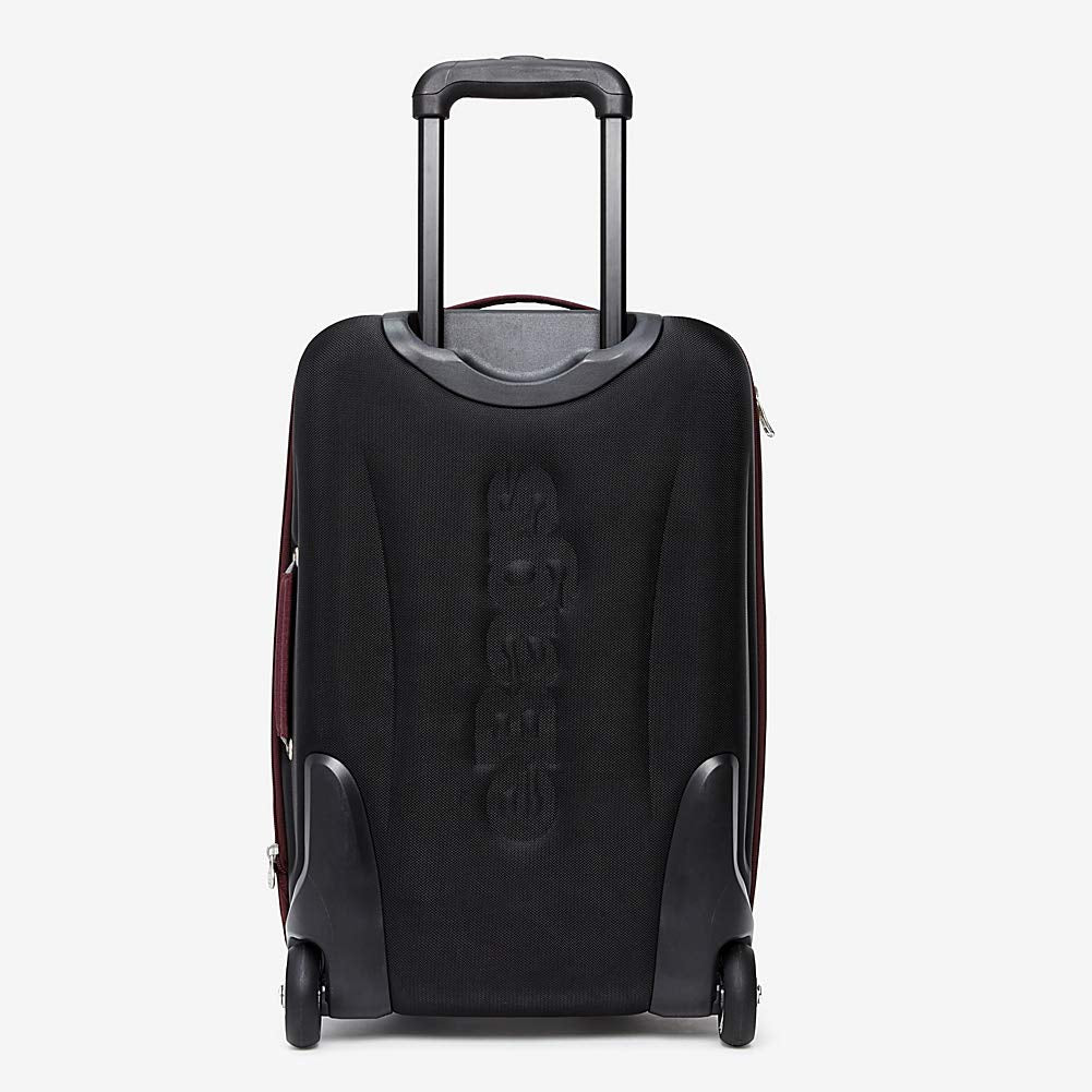 eBags TLS Mother Lode Mini 21 Inch Wheeled Duffel Bag Luggage - Carry-On - (Solid Black) - backpacks4less.com