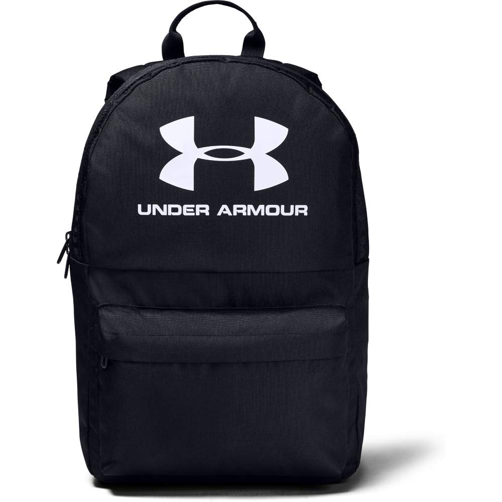 Under Armour Unisex Loudon Backpack, Black (002)/White, One Size Fits All - backpacks4less.com