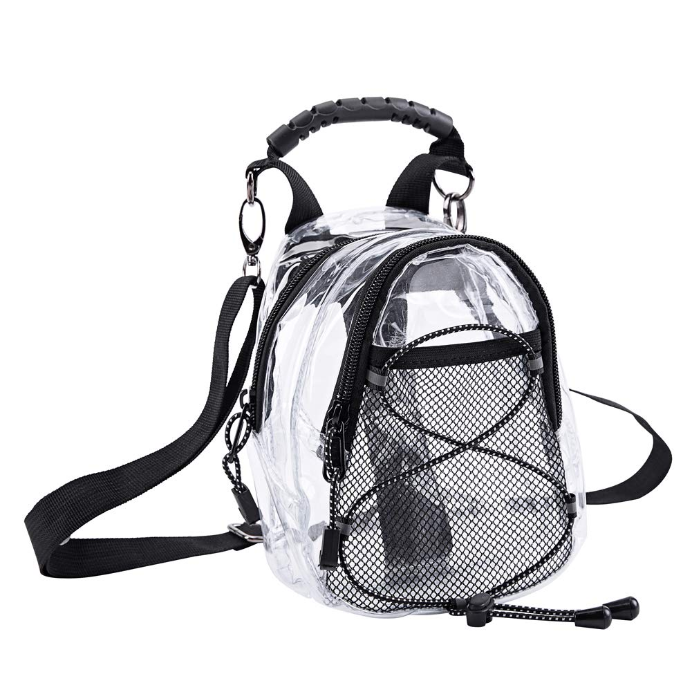 Magicbags Fashion Clear Fanny Pack, Stadium Approved Clear Crossbody Purse Bag,Multifunctional Waist Pack Perfect for Travel Festival Sports - backpacks4less.com
