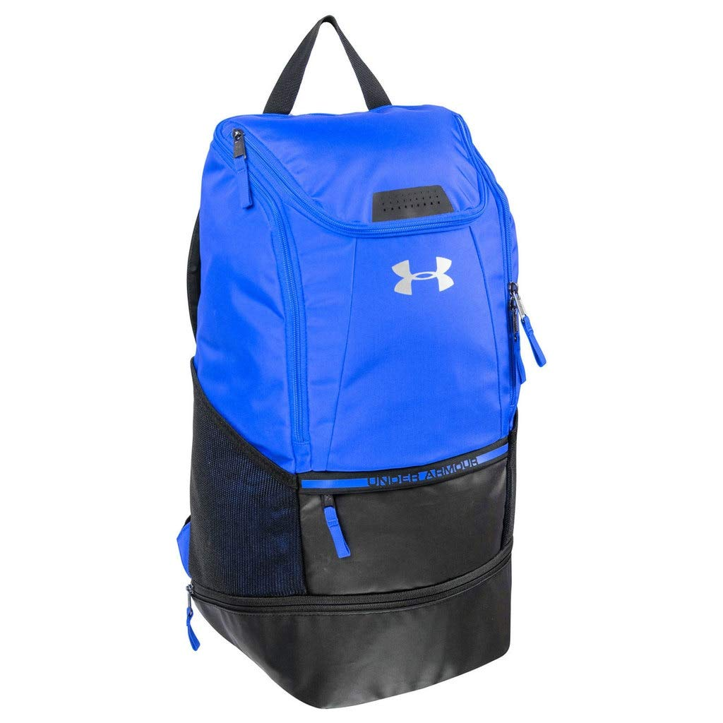 Under Armour Striker2 Soccer Backpack, ROYAL BLUE , Large - backpacks4less.com