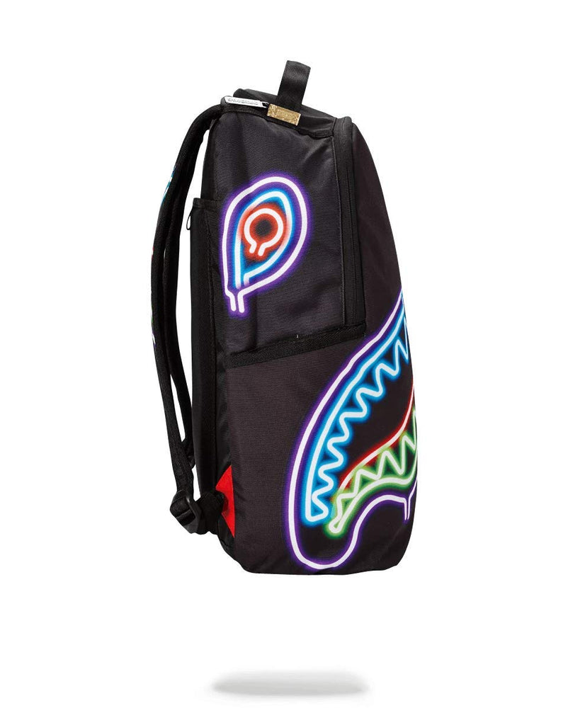 SPRAYGROUND BACKPACK NEON SHARK - backpacks4less.com