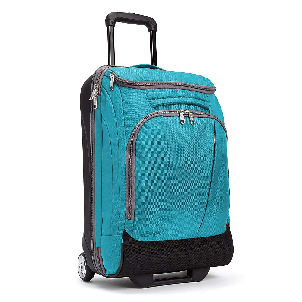eBags TLS Mother Lode Mini 21 Inch Wheeled Duffel Bag Luggage - Carry-On - (Tropical Turquoise) - backpacks4less.com