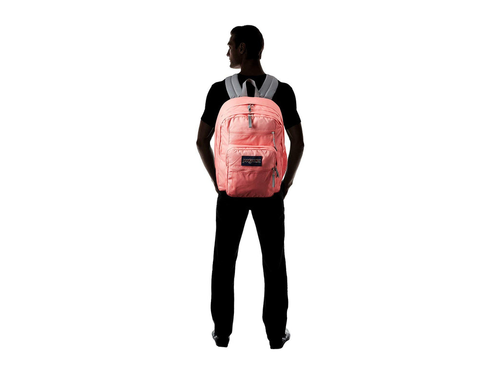 JanSport Unisex Big Student Strawberry Pink One Size - backpacks4less.com