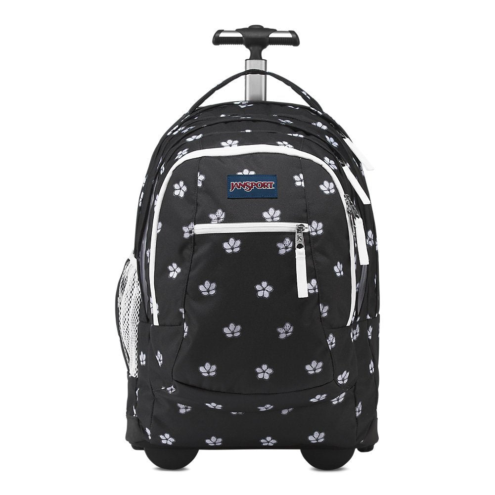 Jansport Driver 8 Rolling Laptop Backpack - Cherry Blossom - backpacks4less.com
