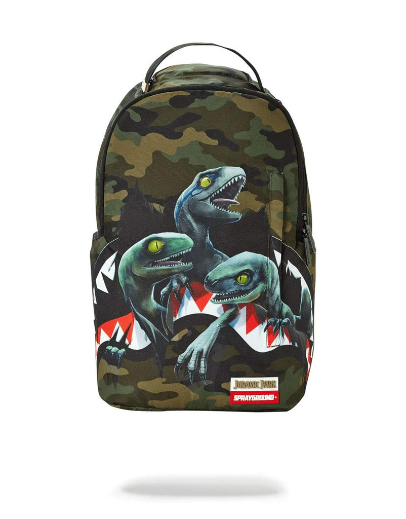 SPRAYGROUND BACKPACK JURASSIC WORLD SHARK - backpacks4less.com