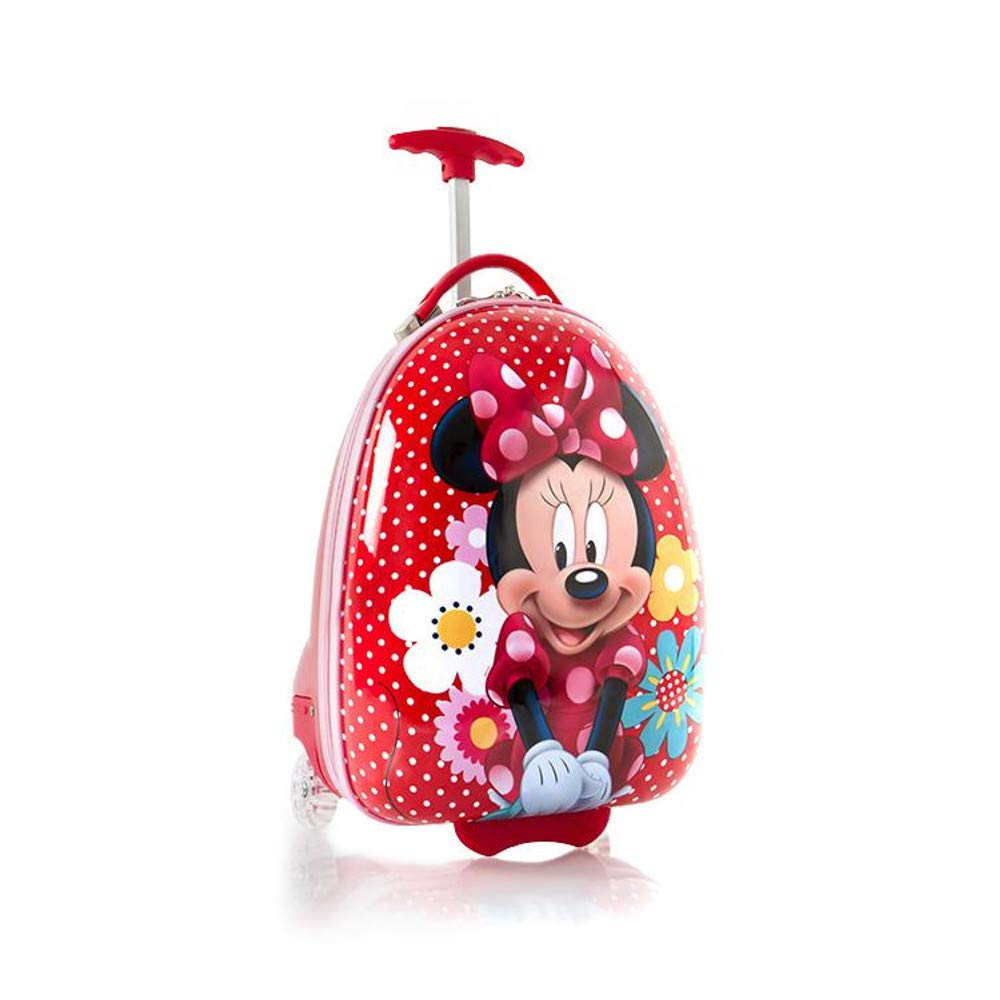 Heys Disney Minnie Mouse Kids Luggage [Red - Minnie Bow-tique] - backpacks4less.com