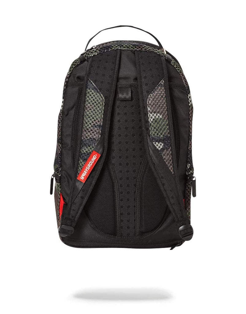 SPRAYGROUND Mesh Shark Backpack | Camo (B1506) - backpacks4less.com