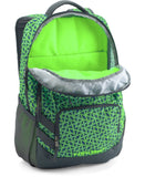 Under Armour Storm Hustle II Backpack, Caspian (404)/Lime Light, One Size Fits All - backpacks4less.com