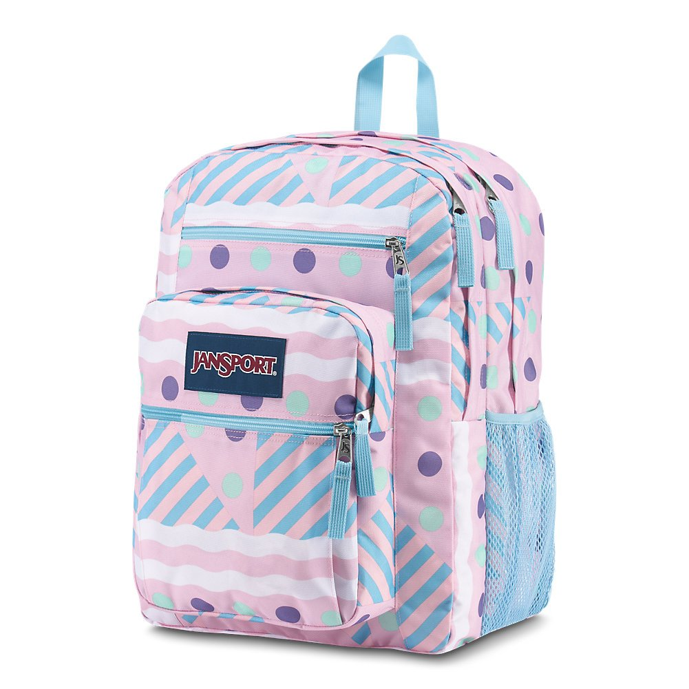 JanSport Big Student Backpack - Ice Cream Geo - Oversized - backpacks4less.com