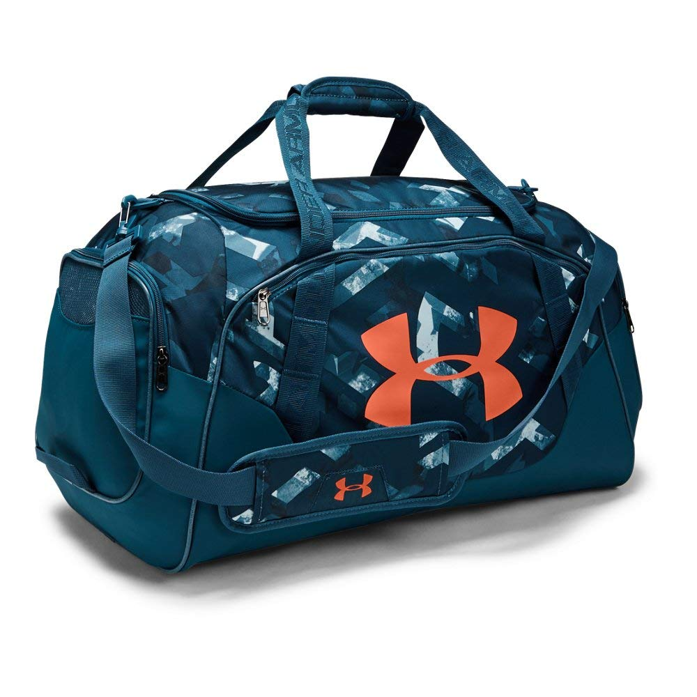 Under Armour Unisex Undeniable Duffle 3.0 Md, Petrol Blue, One Size - backpacks4less.com