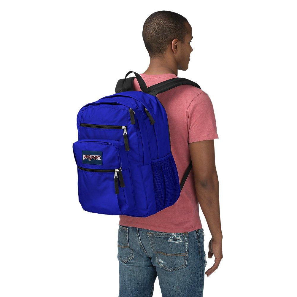 JanSport Big Student Backpack - Regal Blue - Oversized,One Size - backpacks4less.com