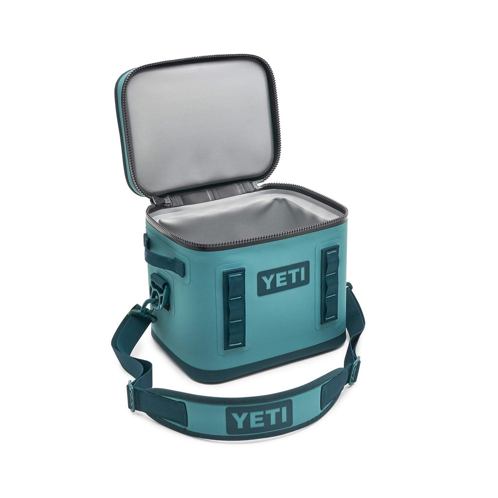 YETI Hopper Flip 12 Portable Cooler, River Green - backpacks4less.com