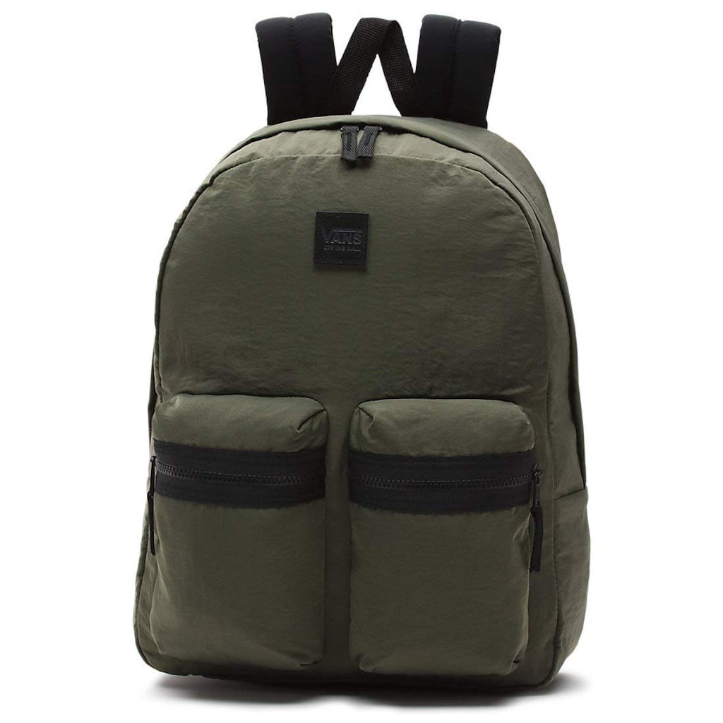 Vans Double Down Backpack Olive - backpacks4less.com