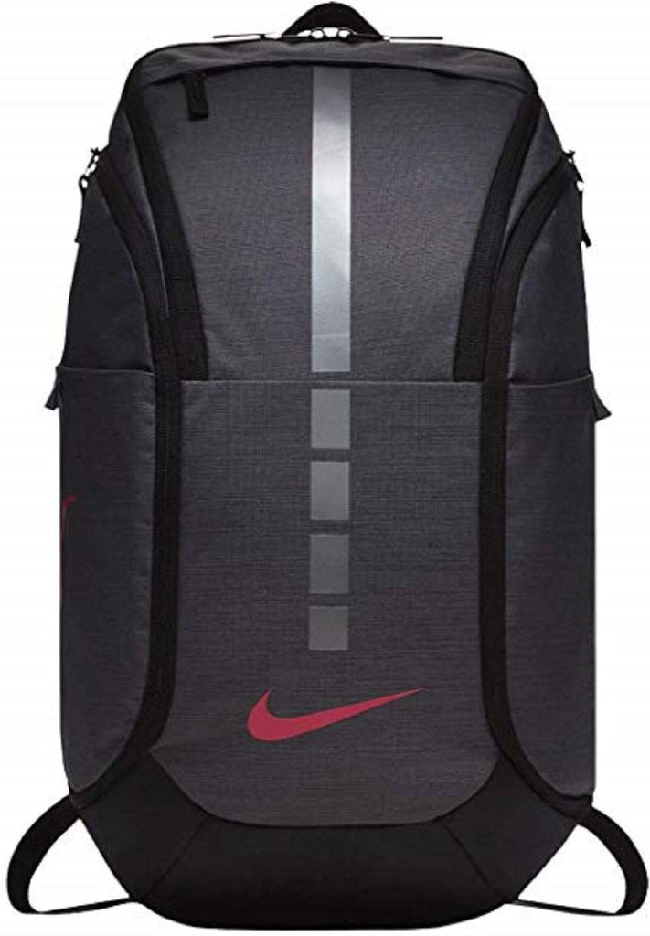 Nike Mens NK HPS ELT PRO BKPK BA5554-021 - DARK GREY/BLACK/VIVID PINK - backpacks4less.com