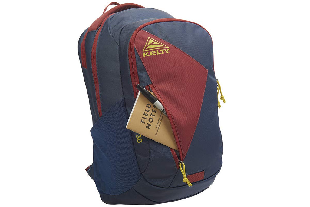 Kelty Slate Backpack, Midnight Navy/Red Ochre - 30L Daypack - backpacks4less.com