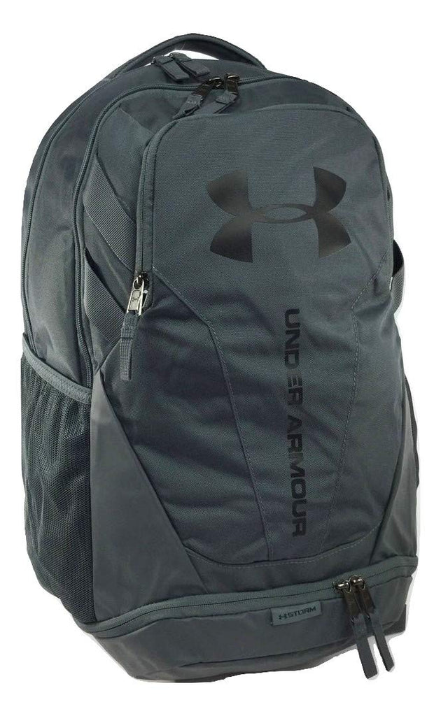 Under Armour Hustle 3.0 Backpack, Grey (012), One Size - backpacks4less.com