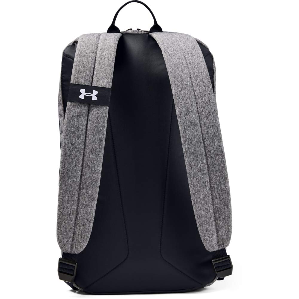 Under Armour Gametime Backpack, Graphite Medium Heather//White, One Size Fits All - backpacks4less.com