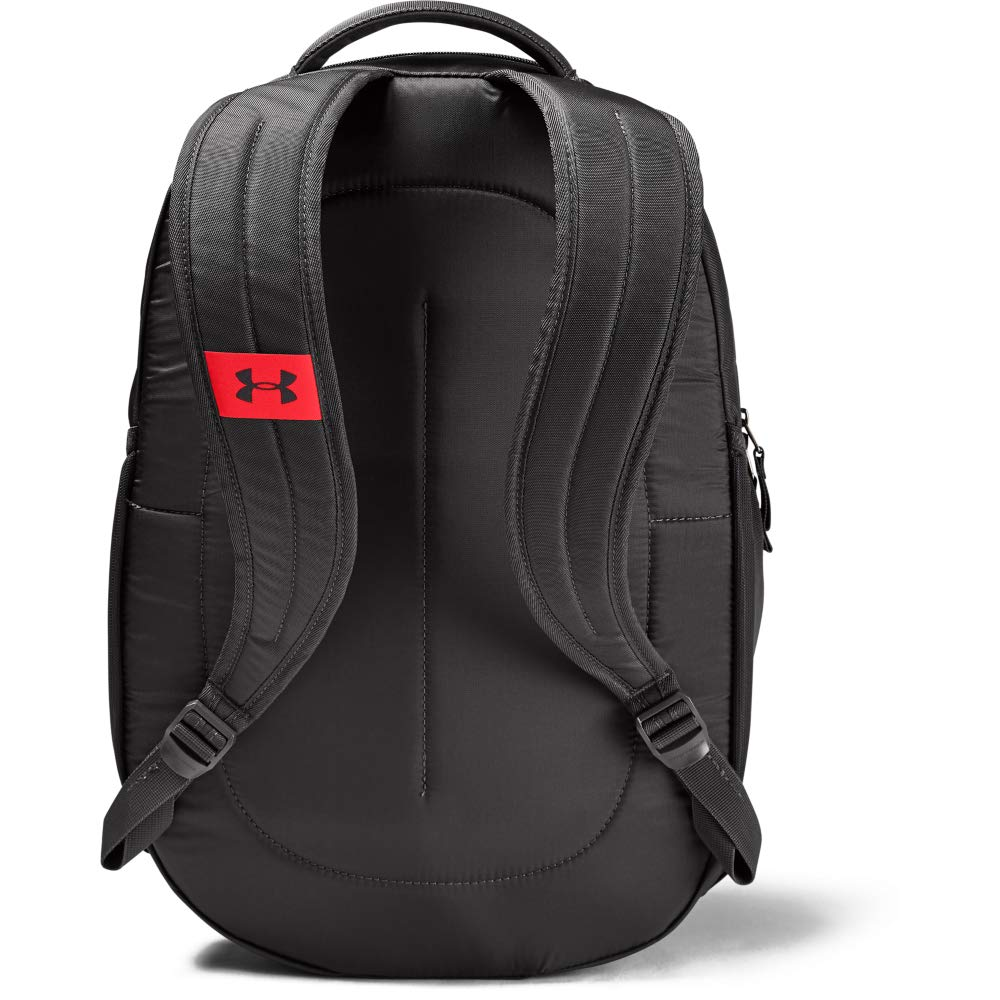 Under Armour Unisex Hustle 4.0 Backpack, Jet Gray (010)/Beta, One Size Fits All - backpacks4less.com