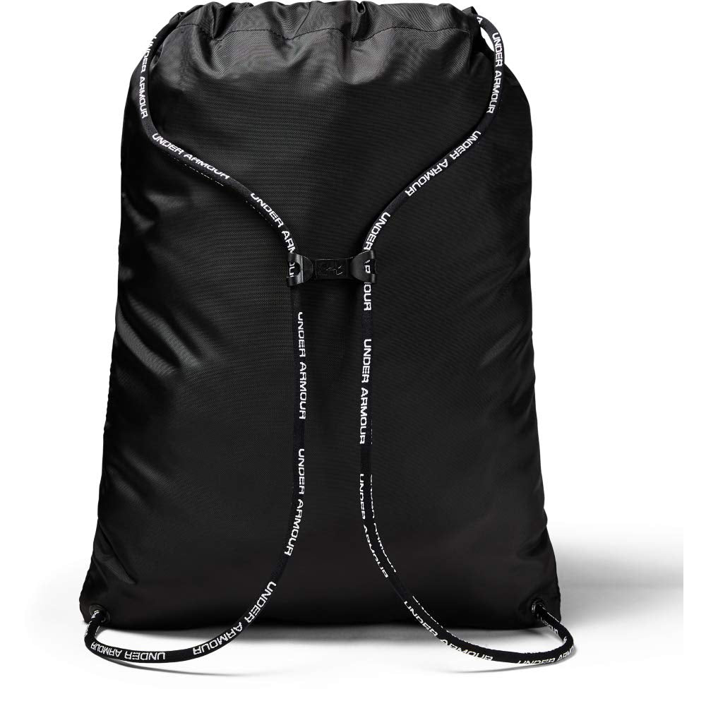 Under Armour Undeniable 2.0 Sackpack, Black (002)/Black, One Size Fits All - backpacks4less.com