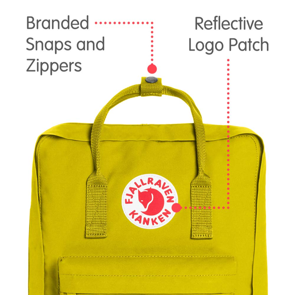 Fjallraven - Kanken Classic Backpack for Everyday, Birch Green - backpacks4less.com