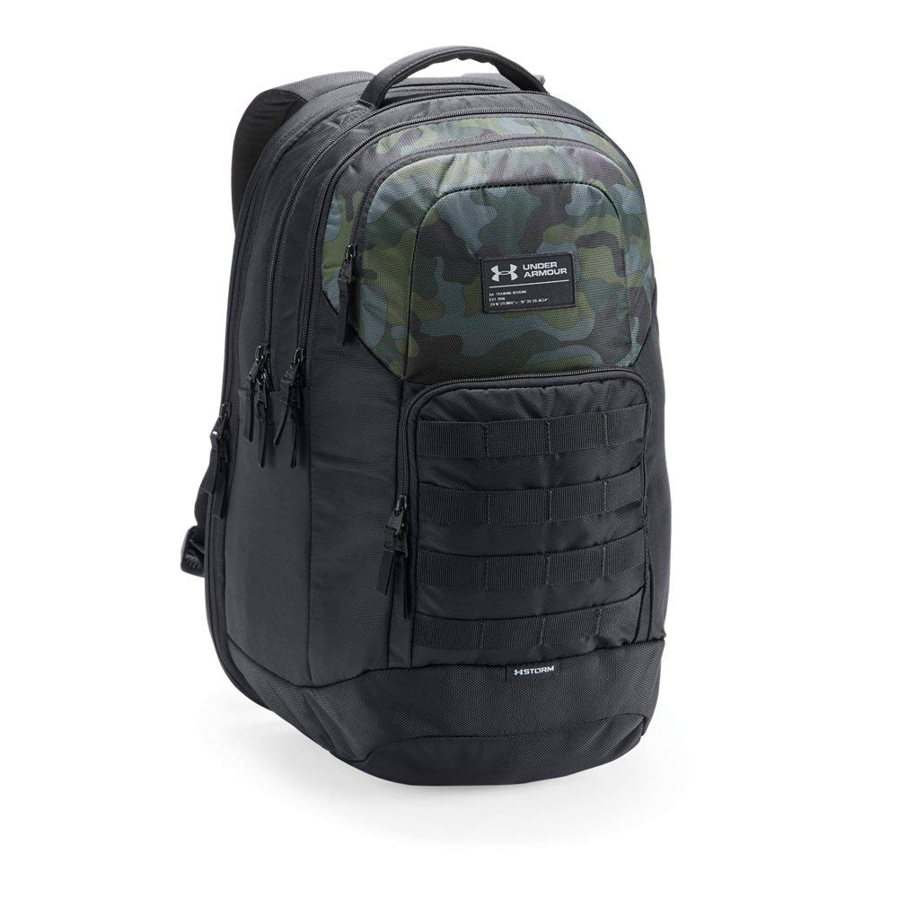 Under Armour Guardian Backpack, Desert Sand (290)/Black, One Size Fits All - backpacks4less.com