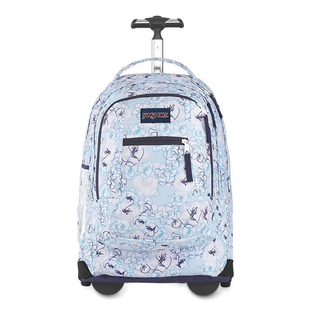 "JanSport Driver Rolling 15"" Laptop Backpack - Wheeled Book Bag 