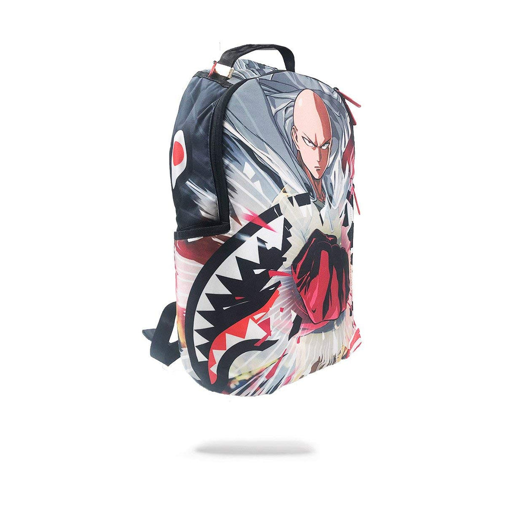 Sprayground One Punch Man Shark Backpack - backpacks4less.com