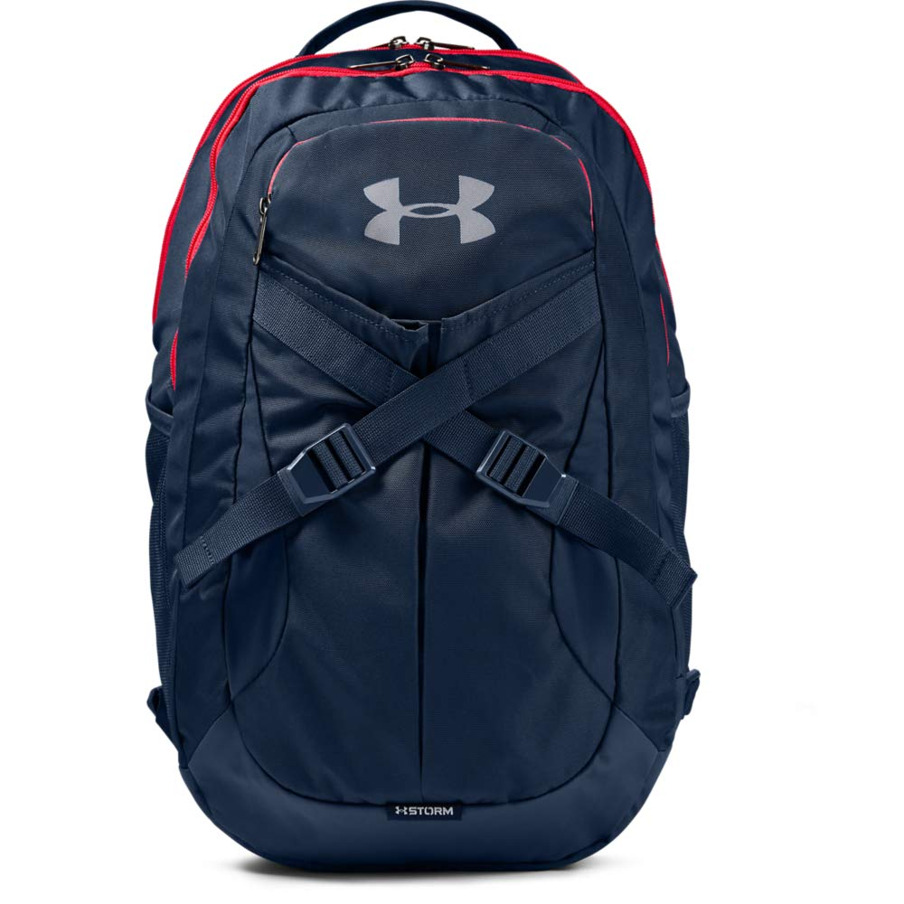 Under Armour Recruit Backpack 2.0, Academy/Steel, One Size - backpacks4less.com