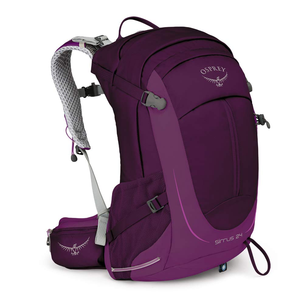 Osprey Packs Sirrus 24 Women's Hiking Backpack, Ruska Purple, o/s, One Size - backpacks4less.com