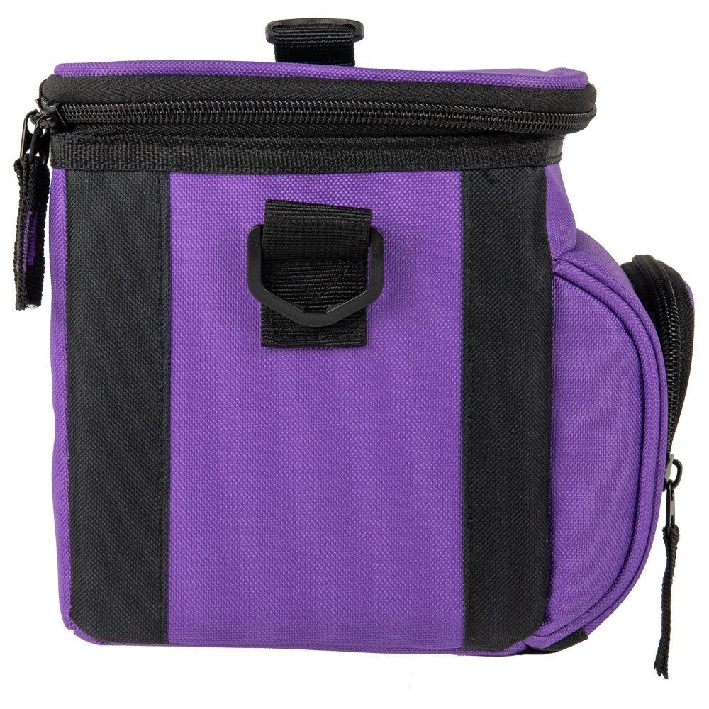 Day Cooler, 6 Can, Purple - backpacks4less.com