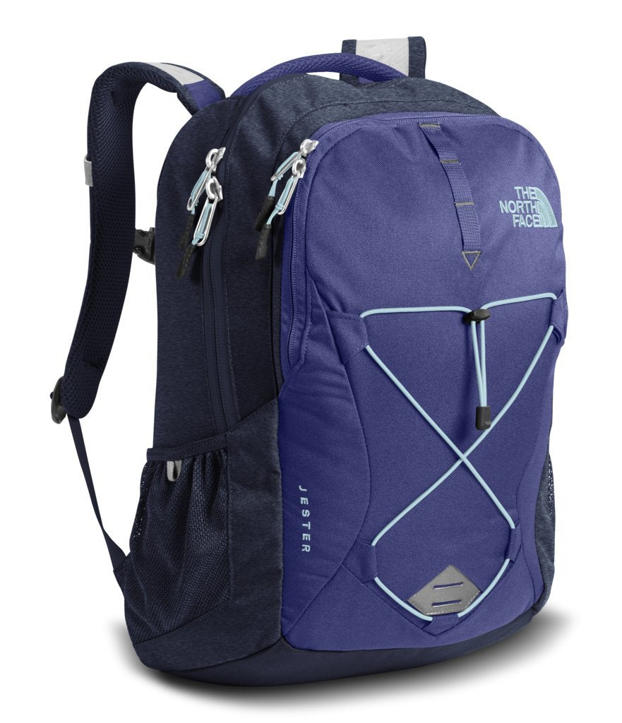 The North Face Women's Jester Backpack - Bright Navy & Urban Navy Heather - OS (Past Season) - backpacks4less.com