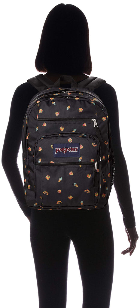 Jansport Unisex Big Student Backpacks, Neon Icons, One Size - backpacks4less.com