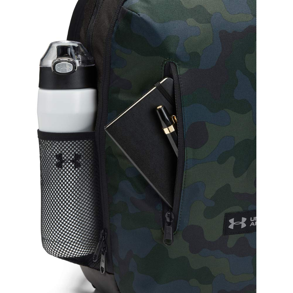 Under Armour Roland Backpack, Desert Sand (290)/Steel, One Size Fits All - backpacks4less.com