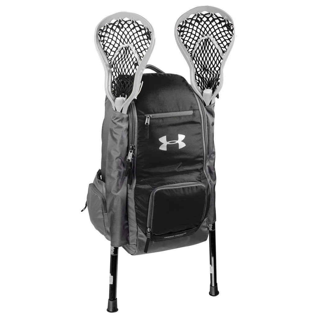 Under Armour Men's LAX Lacrosse Backpack Bag Black Size One Size - backpacks4less.com