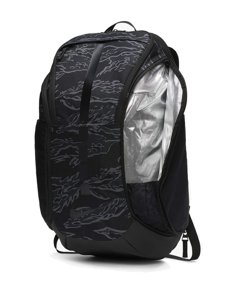 Nike Hoops Elite Hoops Pro Basketball Backpack University Red/Black/Metallic Cool Grey,One Size - backpacks4less.com