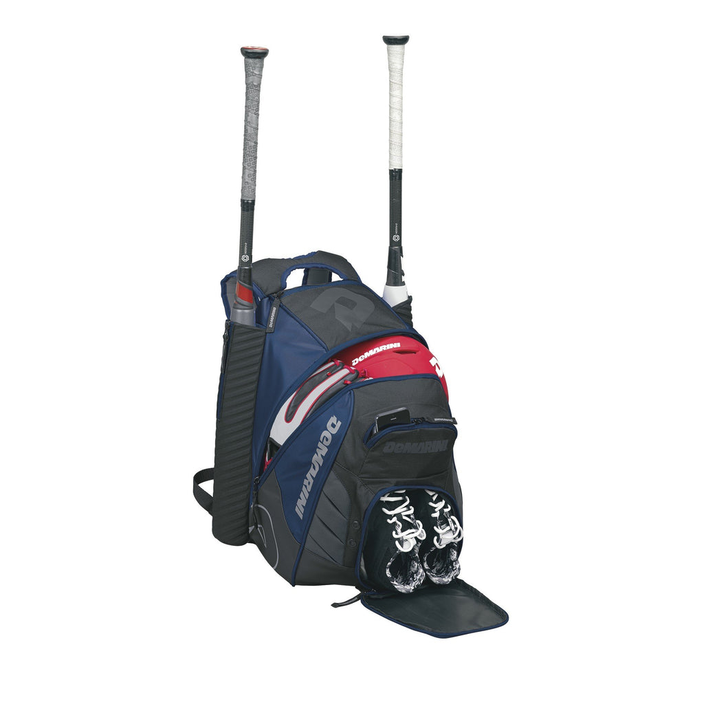 DeMarini Voodoo Rebirth Baseball Backpack-Navy - backpacks4less.com