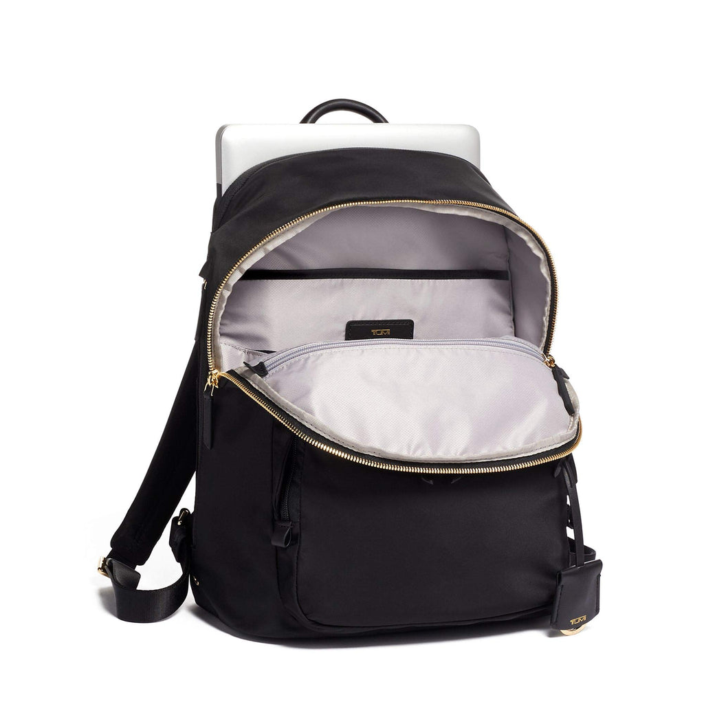 TUMI - Voyageur Hartford Laptop Backpack - 13 Inch Computer Bag For Women (Black) - backpacks4less.com