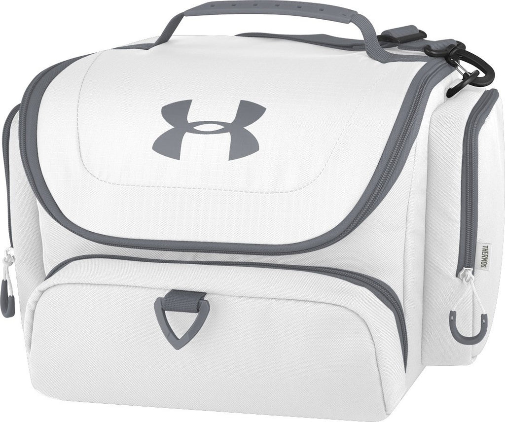 Under Armour 24 Can Soft Sided Cooler, White - backpacks4less.com