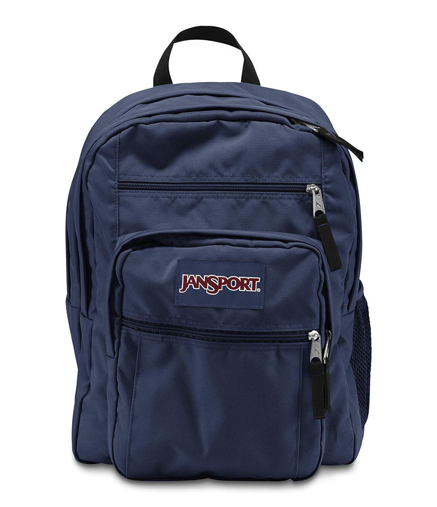 JanSport, Big Student Backpack, O/S, A/Navy_Blue - backpacks4less.com