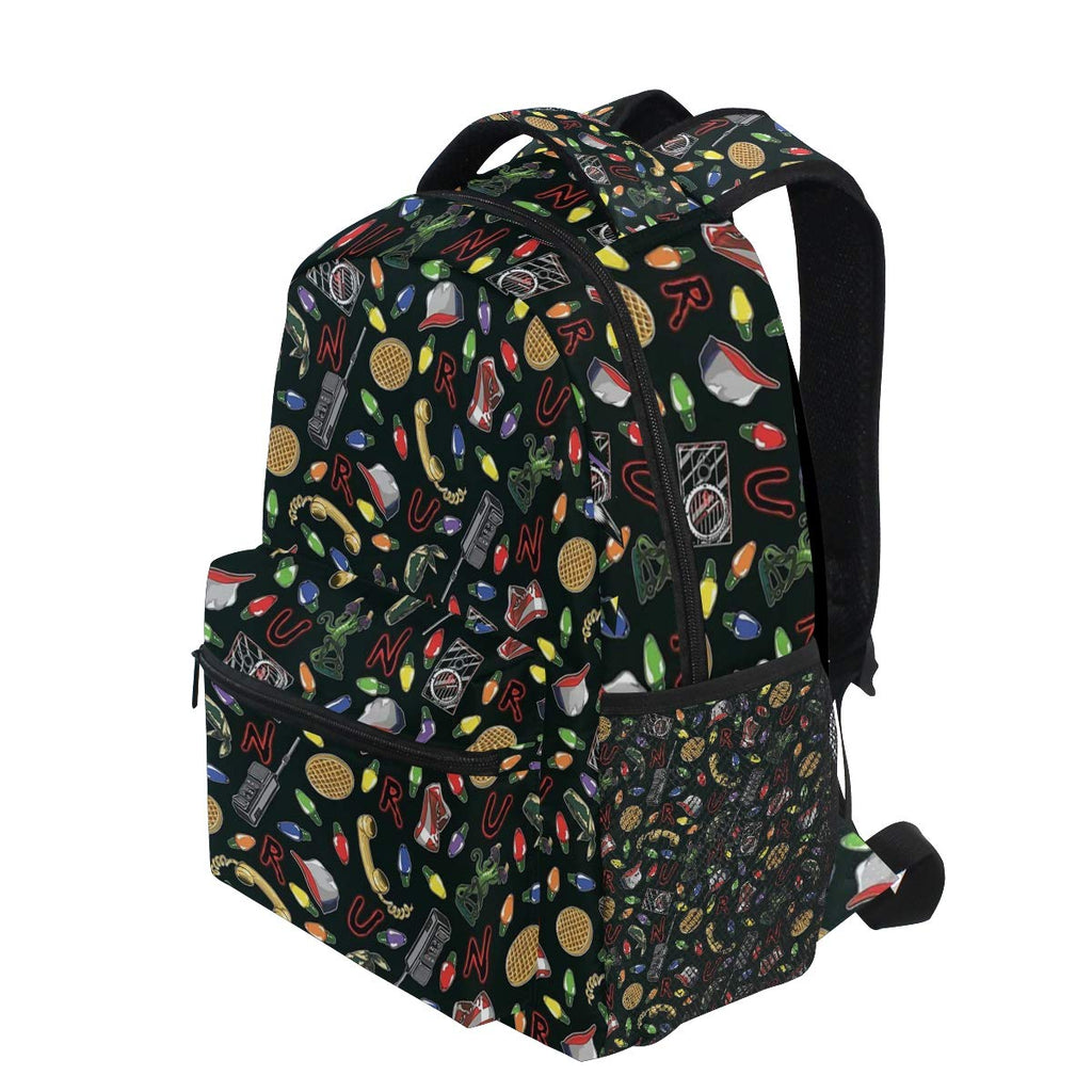 Backpacks Stranger Things College School Book Bag Travel Hiking Camping Daypack - backpacks4less.com