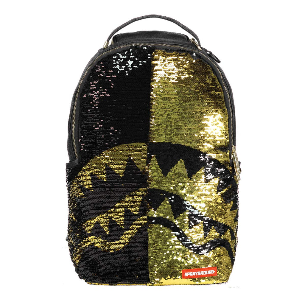 Sprayground Sequins Shark Mouth Backpack - backpacks4less.com
