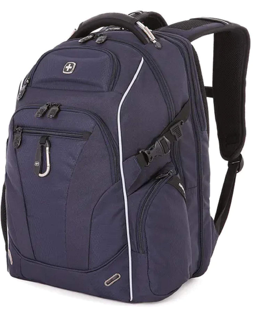 SWISSGEAR SA6752 TSA Friendly ScanSmart Laptop Backpack (Satin Noir) - backpacks4less.com