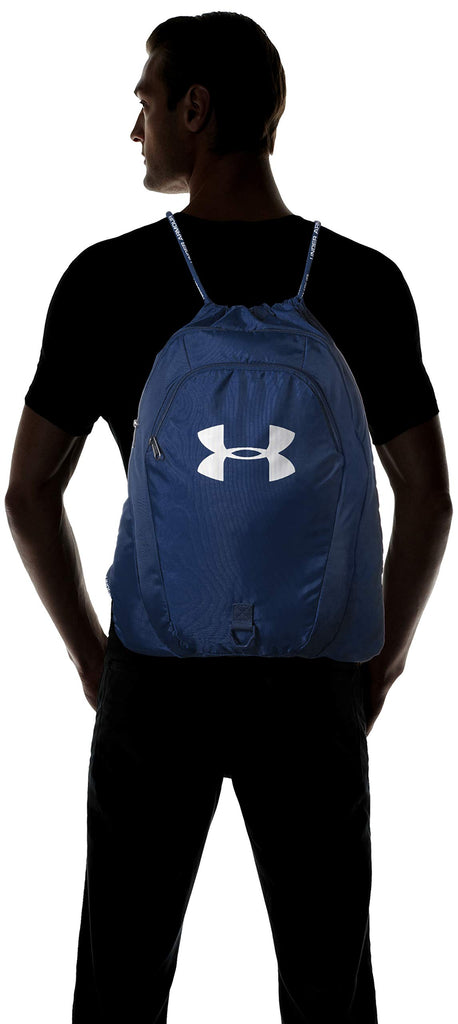 Under Armour Unisex Undeniable 2.0 Sackpack, Academy (408)/Silver, One Size Fits All - backpacks4less.com