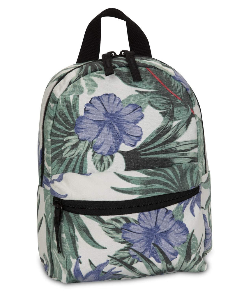 Hurley Canvas Floral Mini Backpacks, Sail (Lanai), one size - backpacks4less.com