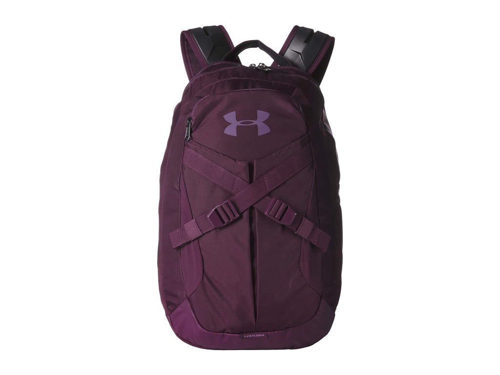 Under Armour Recruit Backpack 2.0, Kinetic Purple//Swift Purple, One Size Fits All - backpacks4less.com