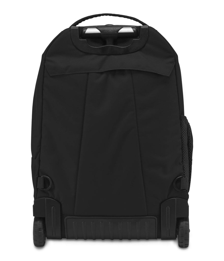 Jansport Driver 8 Core Series Wheeled Backpack, Black (Past Season) - backpacks4less.com